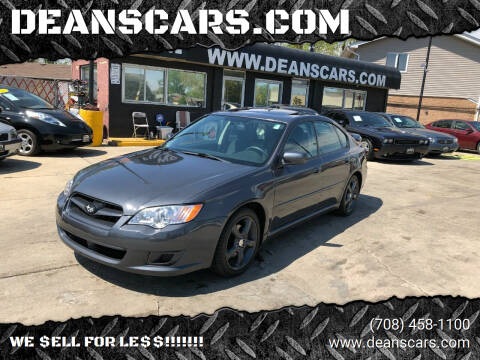 2009 Subaru Legacy for sale at DEANSCARS.COM in Bridgeview IL