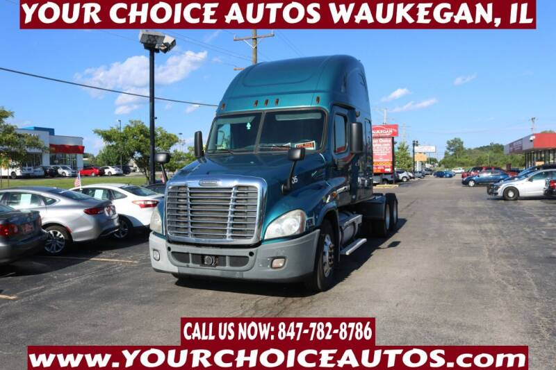 2010 Freightliner Cascadia for sale at Your Choice Autos - Waukegan in Waukegan IL