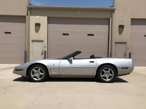 1996 Chevrolet Corvette for sale at Enthusiast Motorcars of Texas in Rowlett TX