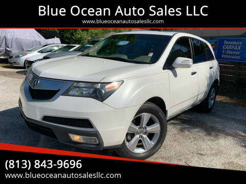 2010 Acura MDX for sale at Blue Ocean Auto Sales LLC in Tampa FL