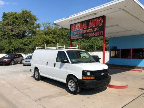 2012 Chevrolet Express Cargo for sale at Global Auto Sales and Service in Nashville TN
