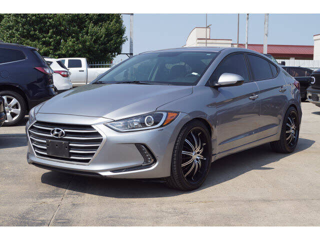 2017 Hyundai Elantra for sale at Credit Connection Sales in Fort Worth TX