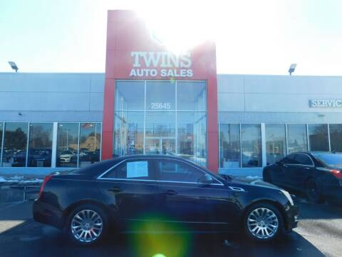 2012 Cadillac CTS for sale at Twins Auto Sales Inc Redford 1 in Redford MI