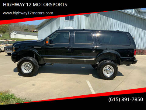 2005 Ford Excursion for sale at HIGHWAY 12 MOTORSPORTS in Nashville TN