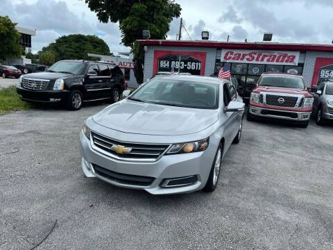 2015 Chevrolet Impala for sale at CARSTRADA in Hollywood FL