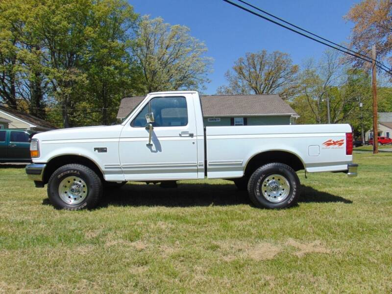 1996 Ford F-150 for sale at CR Garland Auto Sales in Fredericksburg VA