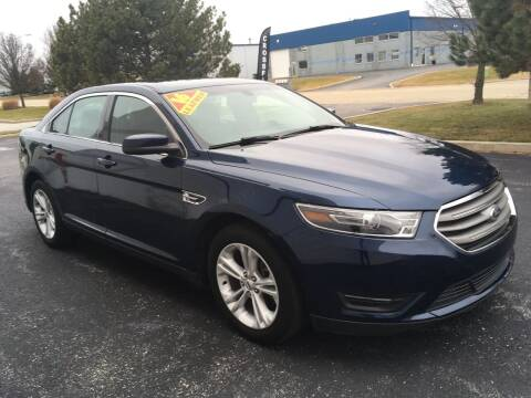 2016 Ford Taurus for sale at Ryan Motors in Frankfort IL
