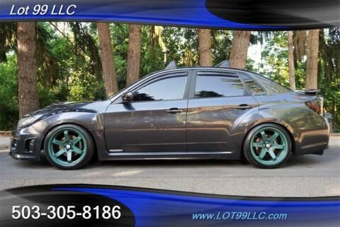 2013 Subaru Impreza for sale at LOT 99 LLC in Milwaukie OR