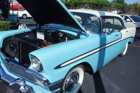 1956 Chevrolet Bel Air for sale at Dream Machines USA in Lantana FL