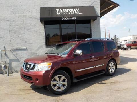 2012 Nissan Armada for sale at FAIRWAY AUTO SALES, INC. in Melrose Park IL