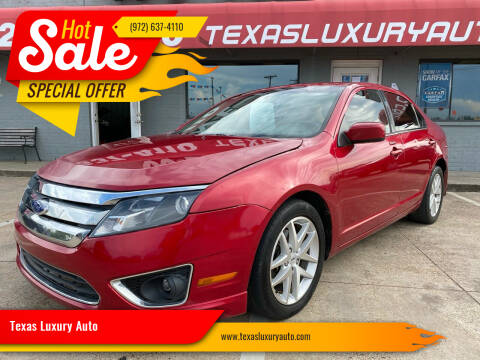 2012 Ford Fusion for sale at Texas Luxury Auto in Cedar Hill TX