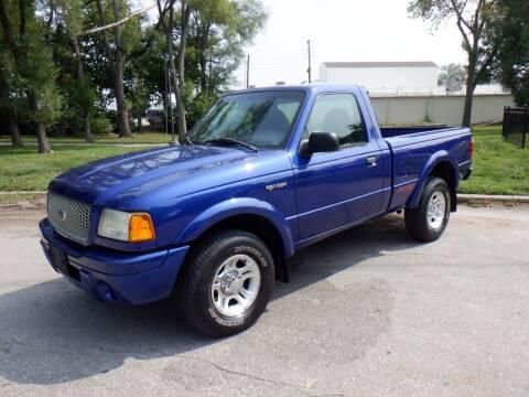 2003 Ford Ranger for sale at RENNSPORT Kansas City in Kansas City MO