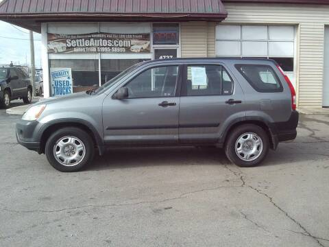 2005 Honda CR-V for sale at Settle Auto Sales STATE RD. in Fort Wayne IN