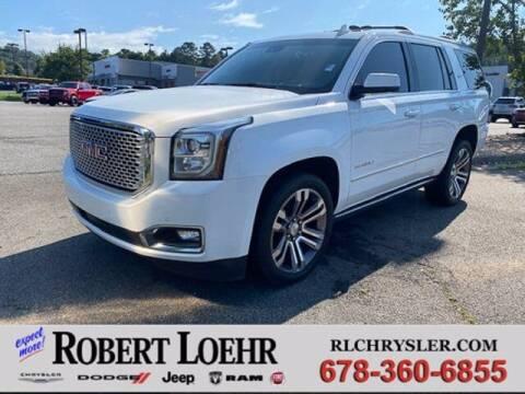 2017 GMC Yukon for sale at Robert Loehr Chrysler Dodge Jeep Ram in Cartersville GA