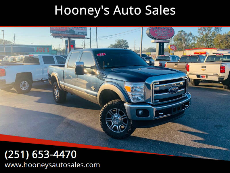 2015 Ford F-250 Super Duty for sale at Hooney's Auto Sales in Theodore AL