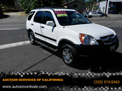 2004 Honda CR-V for sale at AUCTION SERVICES OF CALIFORNIA in El Dorado CA