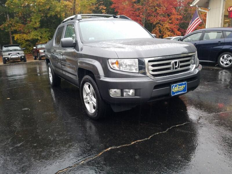 2013 Honda Ridgeline for sale at Fairway Auto Sales in Rochester NH