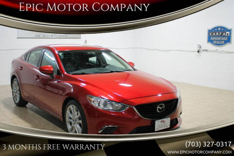 2015 Mazda MAZDA6 for sale at Epic Motor Company in Chantilly VA