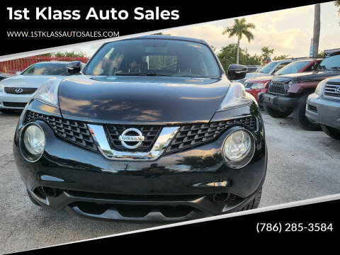 2015 Nissan JUKE for sale at 1st Klass Auto Sales in Hollywood FL