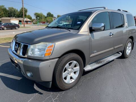 2006 Nissan Armada for sale at New To You Motors in Tulsa OK