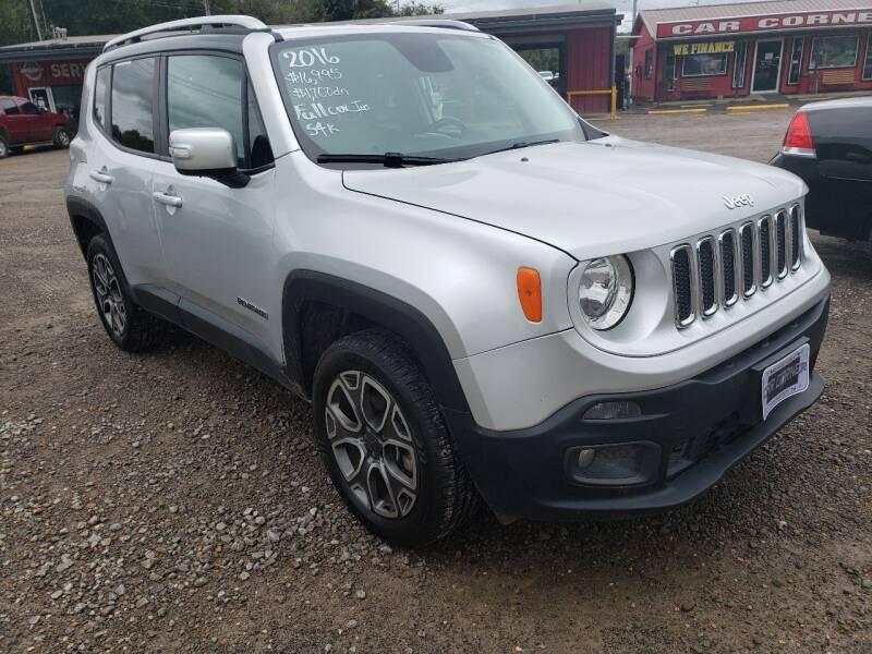 2016 Jeep Renegade for sale at CAR CORNER in Van Buren AR