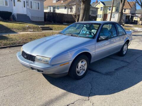 1995 Chevrolet Beretta for sale at Michaels Used Cars Inc. in East Lansdowne PA