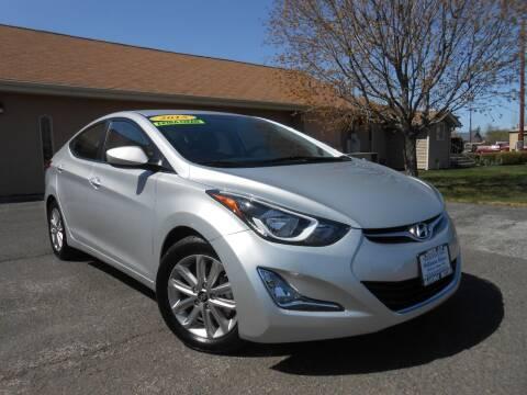 2015 Hyundai Elantra for sale at McKenna Motors in Union Gap WA