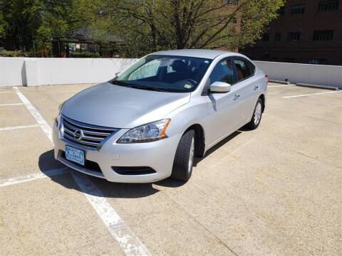 2013 Nissan Sentra for sale at Crown Auto Group in Falls Church VA