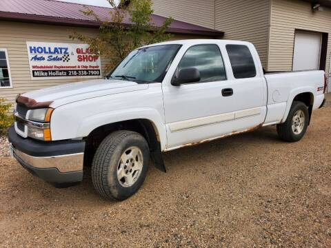 2005 Chevrolet Silverado 1500 for sale at Hollatz Auto Sales in Parkers Prairie MN
