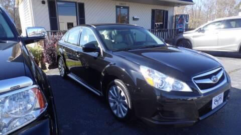 2011 Subaru Legacy for sale at G AND J MOTORS in Elkin NC