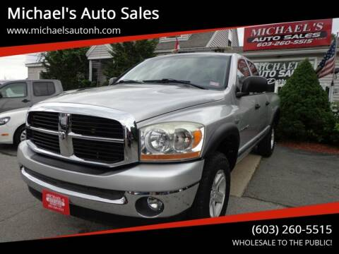 2006 Dodge Ram Pickup 1500 for sale at Michael's Auto Sales in Derry NH