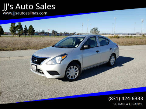 2015 Nissan Versa for sale at JJ's Auto Sales in Salinas CA