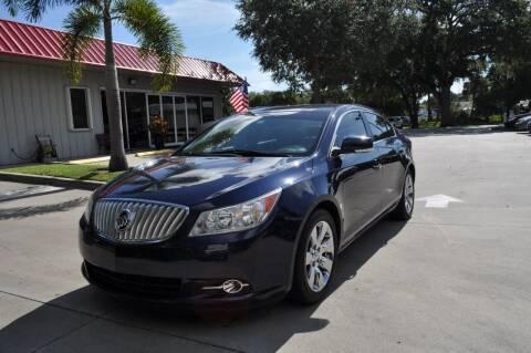 2010 Buick LaCrosse for sale at STEPANEK'S AUTO SALES & SERVICE INC. in Vero Beach FL