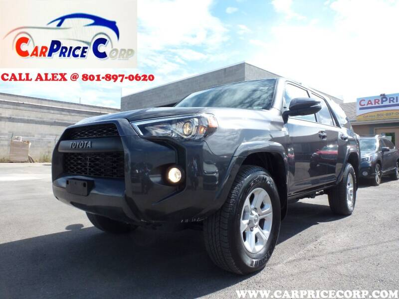 2019 Toyota 4Runner for sale at CarPrice Corp in Murray UT