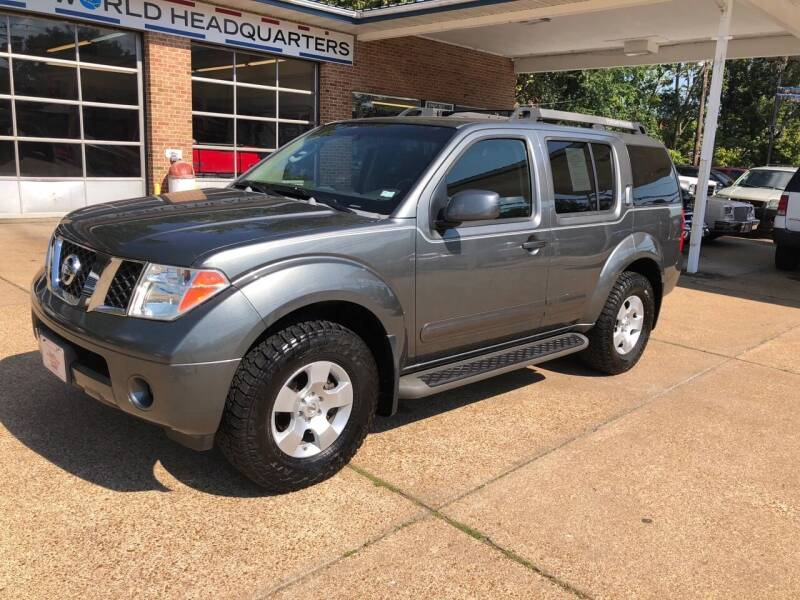 2007 Nissan Pathfinder for sale at County Seat Motors East in Union MO