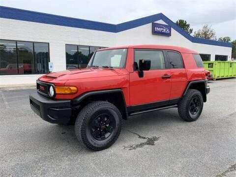 2012 Toyota FJ Cruiser for sale at Impex Auto Sales in Greensboro NC