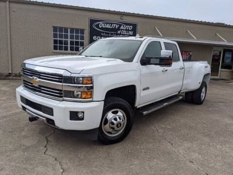 2016 Chevrolet Silverado 3500HD for sale at Quality Auto of Collins in Collins MS