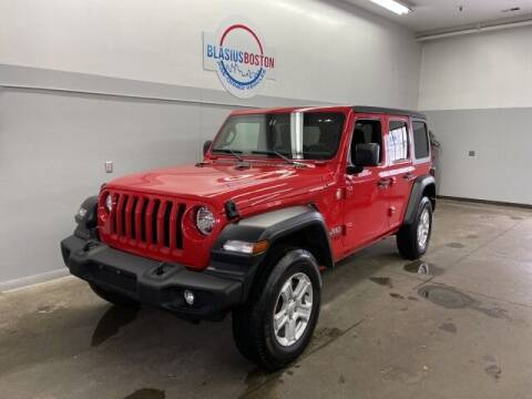 2020 Jeep Wrangler Unlimited for sale at WCG Enterprises in Holliston MA