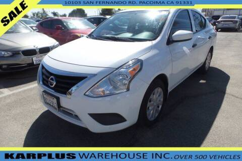 2018 Nissan Versa for sale at Karplus Warehouse in Pacoima CA