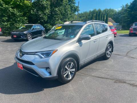 2017 Toyota RAV4 for sale at Glen's Auto Sales in Fremont NH