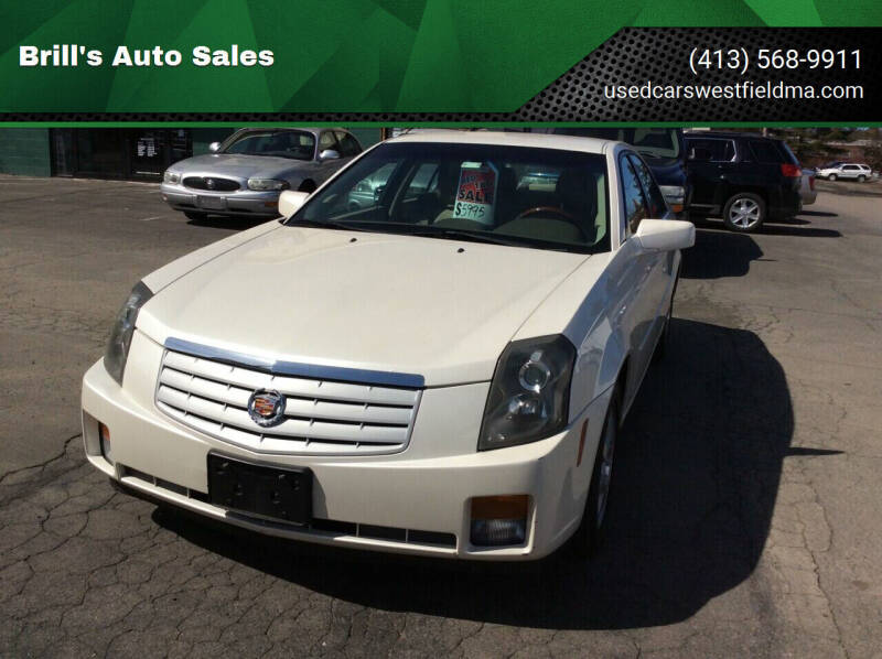 2007 Cadillac CTS for sale at Brill's Auto Sales in Westfield MA