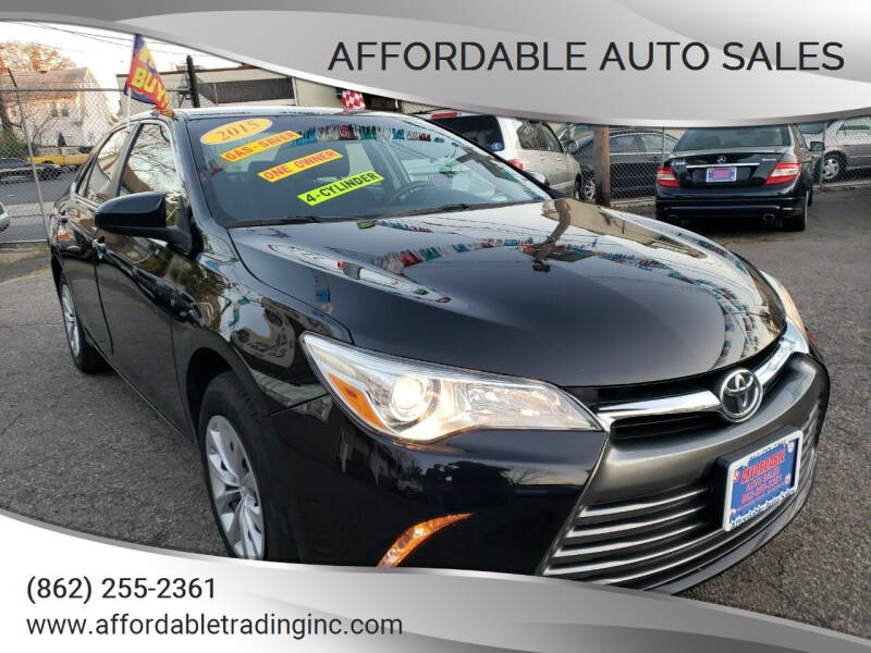 2015 Toyota Camry for sale at Affordable Auto Sales in Irvington NJ