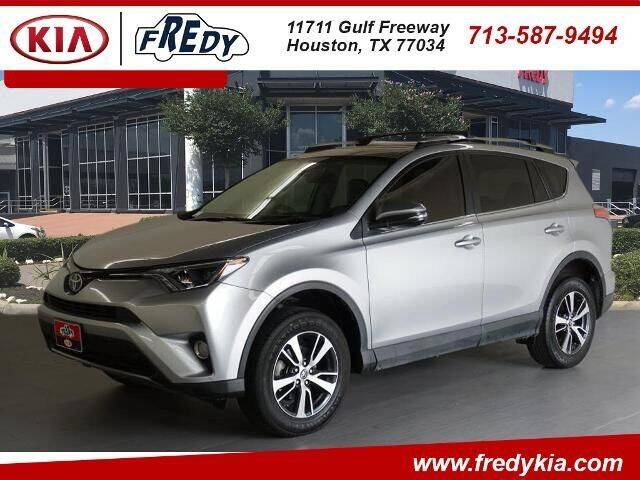 2017 Toyota RAV4 for sale at FREDY KIA USED CARS in Houston TX
