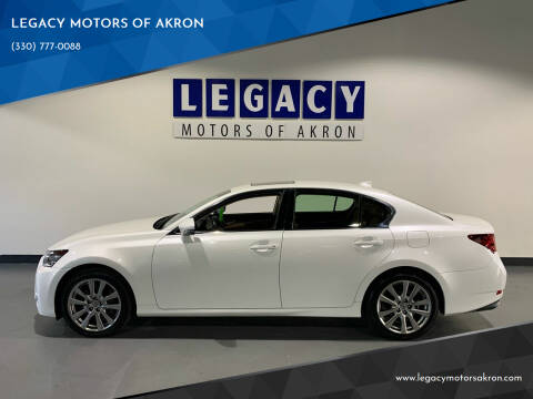 2015 Lexus GS 350 for sale at LEGACY MOTORS OF AKRON in Akron OH