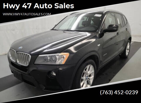 2013 BMW X3 for sale at Hwy 47 Auto Sales in Saint Francis MN