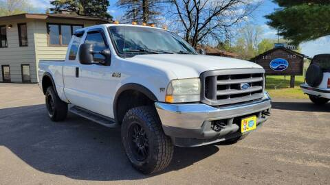 2002 Ford F-250 Super Duty for sale at Shores Auto in Lakeland Shores MN
