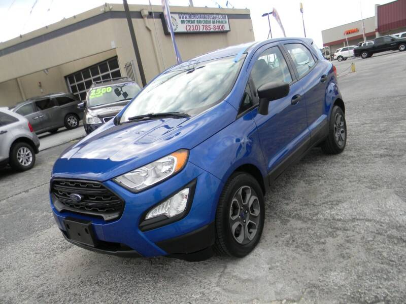 2018 Ford EcoSport for sale at Meridian Auto Sales in San Antonio TX