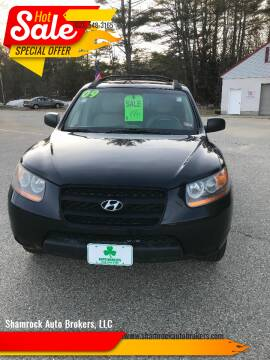 2009 Hyundai Santa Fe for sale at Shamrock Auto Brokers, LLC in Belmont NH