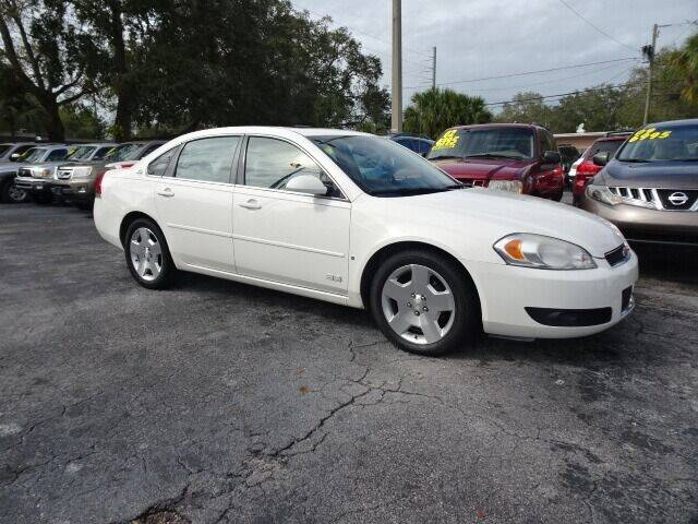 2008 Chevrolet Impala for sale at DONNY MILLS AUTO SALES in Largo FL