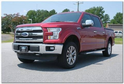 2015 Ford F-150 for sale at WHITE MOTORS INC in Roanoke Rapids NC